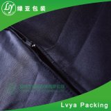 Promoción de venta al por mayor impresas personalizadas Non-Woven cubierta de polvo de tela Bolsa de prendas de vestir de traje de negocios
