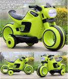 Batteriebetriebenes Dreirad/orange Farbe scherzt elektrisches Motorrad
