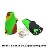 Collector van de Nectar van de SCHAR van de Waterpijp van de Pijp van het Glas van het Silicone van de Prijs van de Fabriek van China de Rubber Rokende