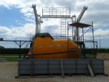 reddingsboot van het Bewijs van de Brand van 4.9m de Vrije Daling Ingesloten