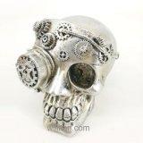 Череп смолаы черепа мычки Polyresin высокого качества нестандартной конструкции на Halloween