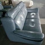 Sofá de couro original por atacado da fábrica para a mobília da entrada do hotel (A31)