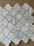 2017 도매가 당초무늬 손전등 Carrara 백색 대리석 모자이크