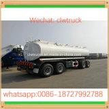単一の半Alxesの炭素鋼20cbmの石油燃料のタンカーのトレーラー