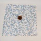Paño floral barato impreso estándar de la cena de la servilleta del hotel del algodón En71