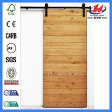純木の製造からの形成された納屋の大戸