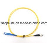 Câble à fibre optique FC-Sc les cordons de brassage