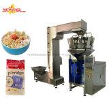 Máquina de empacotamento inteira soprada automática do cereal da grão da aveia do arroz do milho