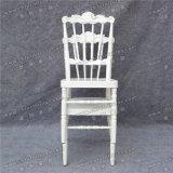 Großhandelsqualitäts-stapelbares weißes Hochzeits-Bankett AluminiumNapolen Tiffany Chiavari Stuhl für Ereignis und Miete (YC-A08W)