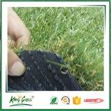 Erba artificiale di paesaggio morbido per il cortile del giardino del campo da giuoco