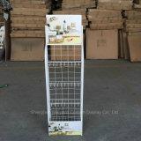 4 couches de papier-tissu de fil métallique de fournitures de magasin étagère de racks d'affichage