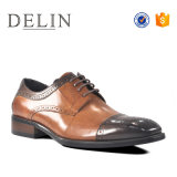 Новые Delin прибывают обувь для мужчин кожаную обувь