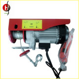 Hersteller PA-Typ bewegliche 500kg Drahtseil-mini elektrische Hebevorrichtung
