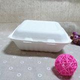 La vaisselle jetable articulée de bagasse Bento Boîte à lunch pour aller biodégradable Food Box