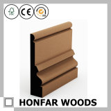 Scheda di bordatura coloniale di legno solido di stile per la decorazione della pavimentazione