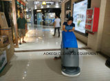 Batteriebetriebener Weg hinter Selbstwäscher-Trockner
