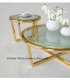 유리제 테이블을 부드럽게 하는 둥근 새로운 디자인