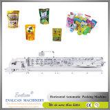 Macchina di riempimento della strumentazione dell'imballaggio del sacchetto di forma/riempimento/saldatura orizzontale automatico di flusso per la polvere del caffè