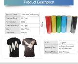 韓国の品質のきらめきPVC衣類のための反射熱伝達のビニールシート
