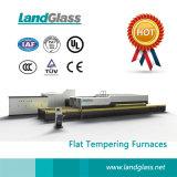 Máquina de moderação de vidro horizontal elétrica da fornalha de Landglass