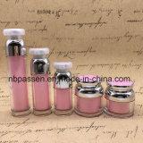 Commerce de gros de l'huile acrylique cosmétique plastique flacon vaporisateur et jeu de JAR