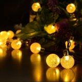 Indicatori luminosi impermeabili della stringa della sfera di RGB per la decorazione della festa di Natale del giardino