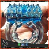 Il rubinetto più durevole maschio del vibratore del sesso del giocattolo del sesso dell'anello del pene del giocattolo della novità squilla il giocattolo adulto del sesso per i giocattoli del sesso degli uomini per le coppie
