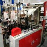 Automatische vier Hochgeschwindigkeitszeilen kaufende Plastiktasche Makine Maschine