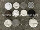 機械(PPBG-500)を作る円形または十字穴が付いているコーヒーカップのふた
