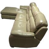 Meilleur hôtel de qualité meubles canapé en cuir de coupe (A18)