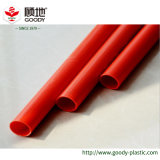 Blanco azul rojo del conducto del PVC del plástico del color eléctrico del tubo