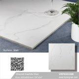 Tegel van de Vloer van het Porselein van Carara de Witte Verglaasde Marmer Opgepoetste (VRP6H039M, 600X600mm)