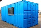 A qualidade de Hight pré-fabricou casa viva do recipiente exportada para Egipto