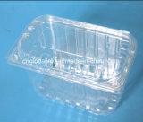 使い捨て可能なペットゆとりのプラスチックブドウボックスフルーツのクラムシェル