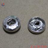 Custom mais barato o logótipo em relevo o botão de retenção de metal em bronze de Luz