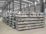 SGCC DX51d hojas de metal galvanizado corrugado para pared y techos