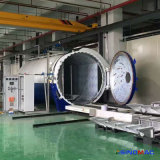 autoclave di vetro industriale di automazione completa certificata ASME di 2850X5000mm