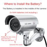 Piscina exterior à prova de segurança fictícia falsa segurança câmera de vigilância CCTV