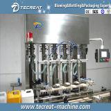 Автоматическая линия разливая по бутылкам машины HDPE пестицида заполняя