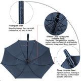 Зонтики гольфа верхнего качества автоматические Windproof с нервюрами стеклоткани