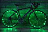 Свет шнура колеса Bike DC Port 20LED RGB перезаряжаемые