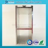 Perfil de aluminio europeo de Europa del Ce para la puerta de la ventana con color modificado para requisitos particulares
