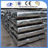 Strato galvanizzato materiale d'acciaio tuffato caldo della lamiera di acciaio del tetto del ferro