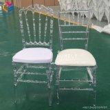 Confortable Estilo de la moda moderna silla Tiffany de resina clara