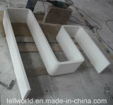 Alto desempenho de armazenamento de acrílico com prateleira de parede