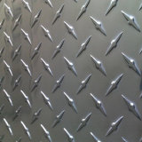 Folha de chapa de Bitola de alumínio para Flooring & alumínio chapa xadrez