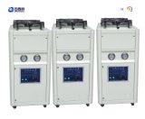 Refroidisseur d'eau industriel refroidi par air chaud de vente petit/mini type refroidi à l'air refroidisseur d'eau de défilement