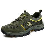 Neuer Mens, der Schuhe mit einfacher und bequemer Entwurfs-guter Befestigung wandert