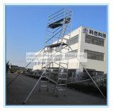 Caja de seguridad Ce andamios de aluminio calificados para la decoración