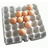 El papel usado recicla la bandeja usada del huevo que hace la máquina (ET6000)